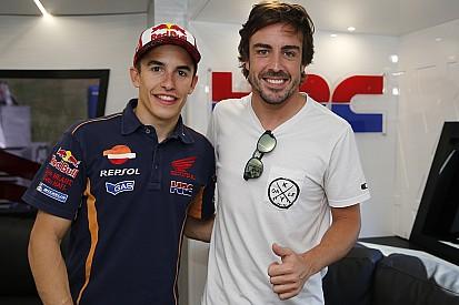 """Alonso: """"Márquez va camino de superar todos los récords"""""""