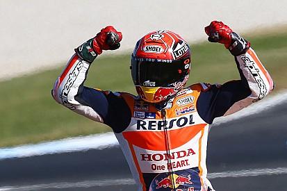 Marquez bidik kemenangan di Phillip Island
