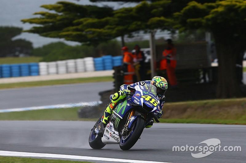 Catatan waktu dibatalkan, Rossi tempati posisi ke-20 di FP1