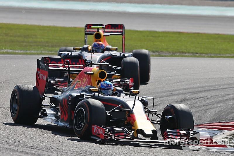 Verstappen ne copie plus les réglages de Ricciardo