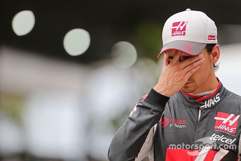 Haas esperaba más de Esteban Gutiérrez