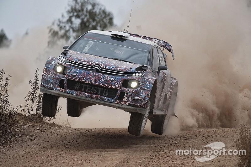 Fotogallery: gli scatti più belli del test 8 della Citroen C3 WRC Plus 2017