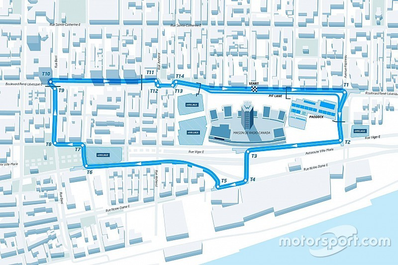 La Fórmula E presenta el trazado del ePrix de Montreal