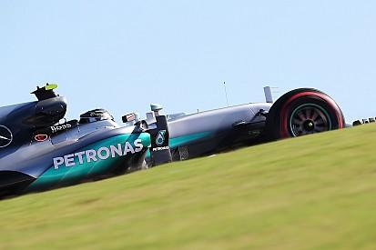 Rosberg defendió su candidatura liderando la FP2 de Austin