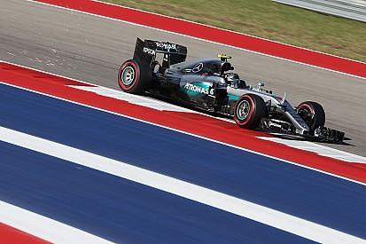 F1アメリカGP FP2:ロズベルグがトップタイム。2番手リカルドがメルセデス勢の間に分け入る
