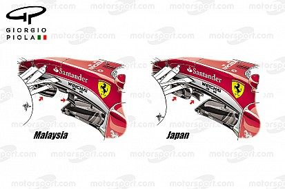 Tech update: Ferrari SF16-H splitter