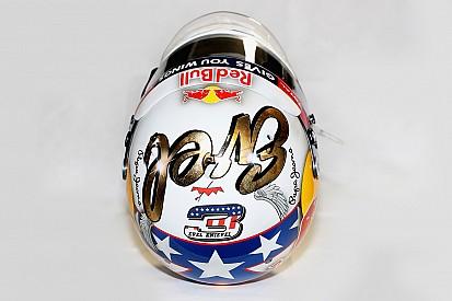Galeria: capacete de Ricciardo homenageia Evel Knievel