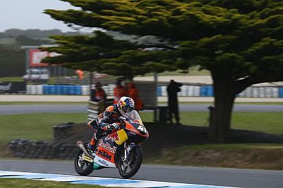 Moto3オーストラリア予選:大波乱の予選も、ビンダーが貫禄のポールポジション