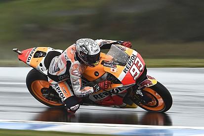 MotoGP Avustralya: 3. seansta Marquez lider, büyük isimler şok yaşıyor!