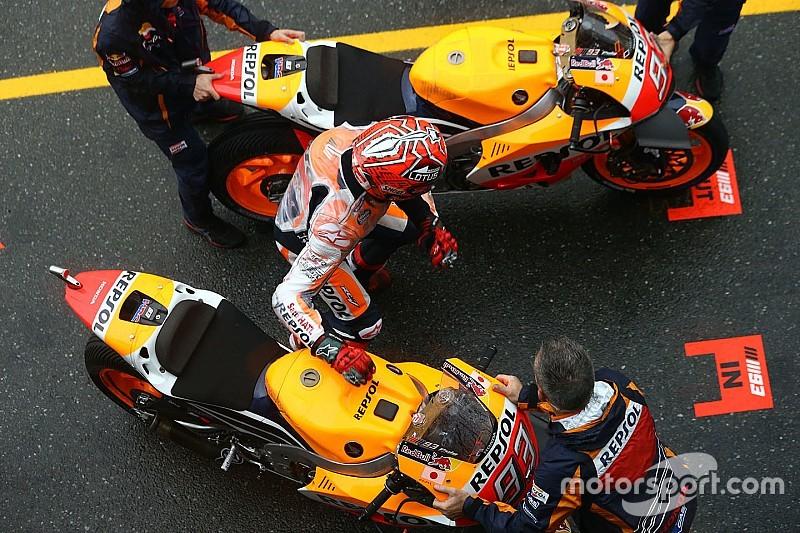 Márquez teste le changement de moto version 2017