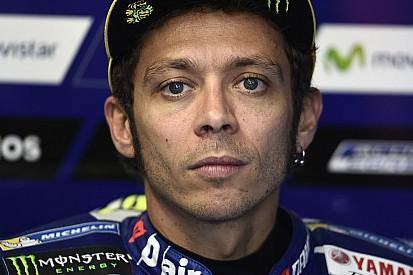 Rossi: Saya tidak pernah kuat dan selalu lambat