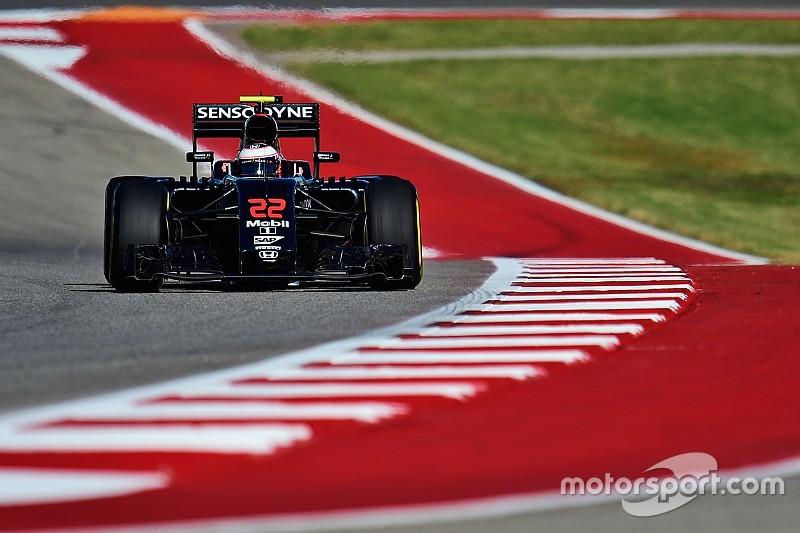 Button örül, hogy a McLaren nem szórta az alkatrészeket Austinban
