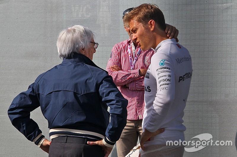 """Ecclestone: """"Que Rosberg sea campeón no ayudaría a la F1"""""""