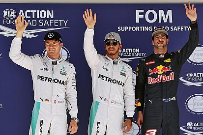 F1アメリカGP予選:ハミルトンが意地のPP。ロズベルグ2番手。リカルドが0.5秒差に迫る
