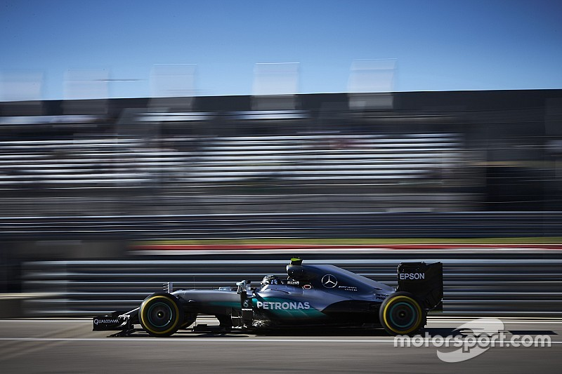 Rosberg manque la passe de trois à Austin