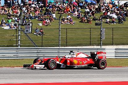 """Vettel baalt: """"Gat naar auto's voor ons is geen goed nieuws"""""""