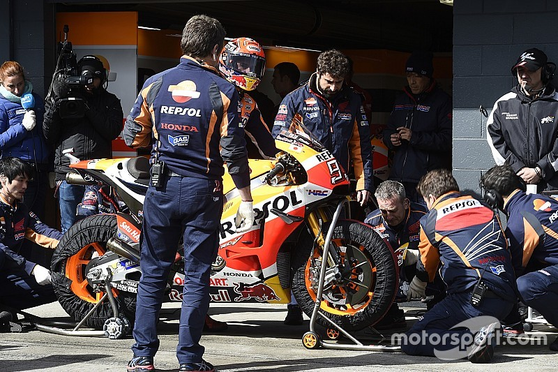 GP Australië: Marquez voor Rossi en Viñales in droge warm-up