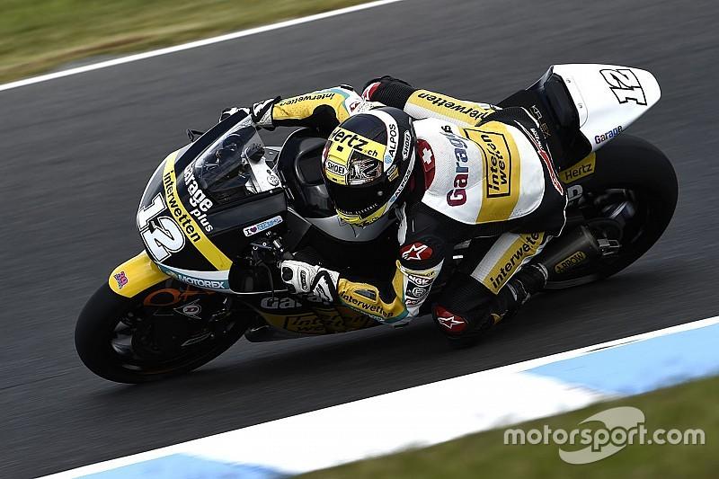 "Moto2オーストラリア決勝:最後は""タイヤひとつ分""の激戦で、ルティが連勝。中上痛みに耐え5位"