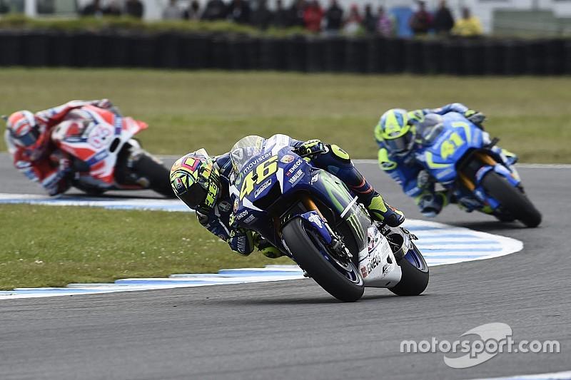 """Rossi - """"J'ai pensé pouvoir gagner, mais Cal était trop fort"""""""