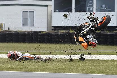 Marquez: Aşırı güven düşmeme neden oldu