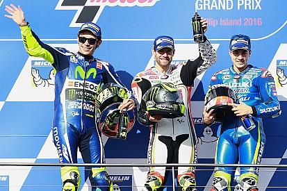 MotoGP Phillip Island: Das Rennergebnis in Fotos