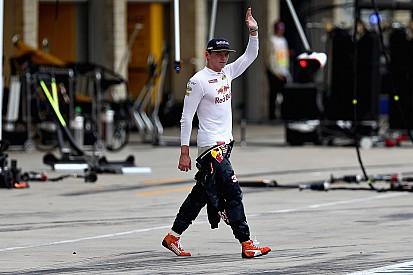Verstappen, sorprendente ganador del premio 'Piloto del día' en Austin