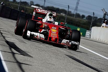 """Vettel: """"Zonder VSC hadden we voor podium kunnen gaan"""""""