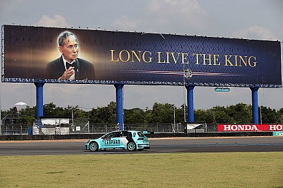 La morte del Re fa saltare l'ultimo round della TCR Thailand