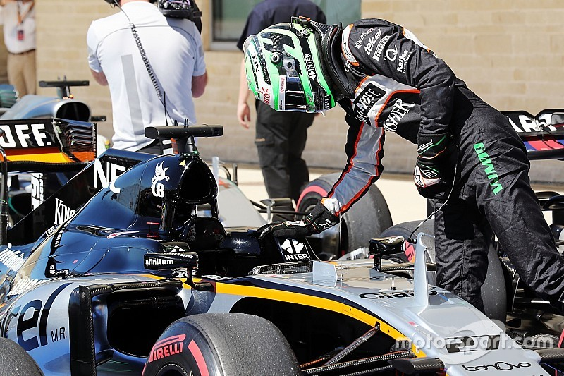 "Hülkenberg - Vettel a été ""trop agressif"" au départ"