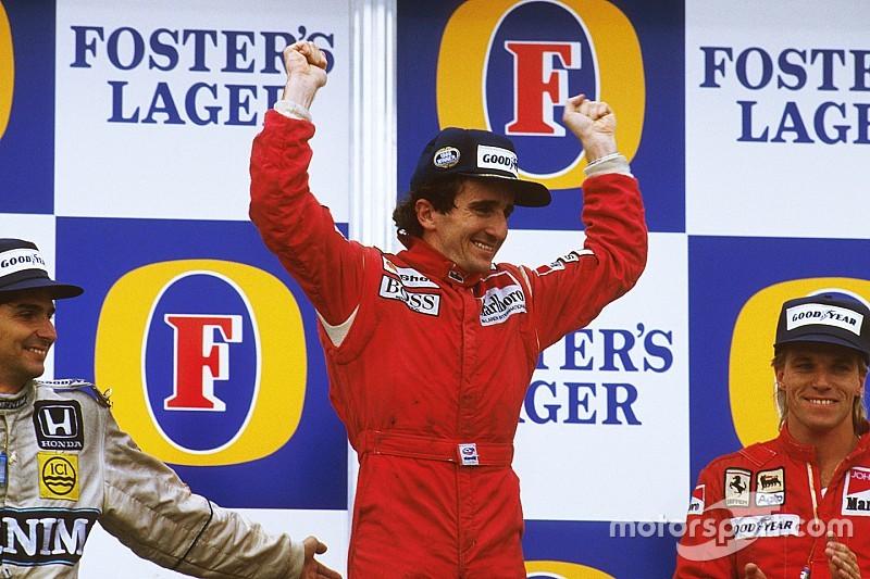 Il y a 30 ans - Le deuxième titre mondial d'Alain Prost à Adelaïde