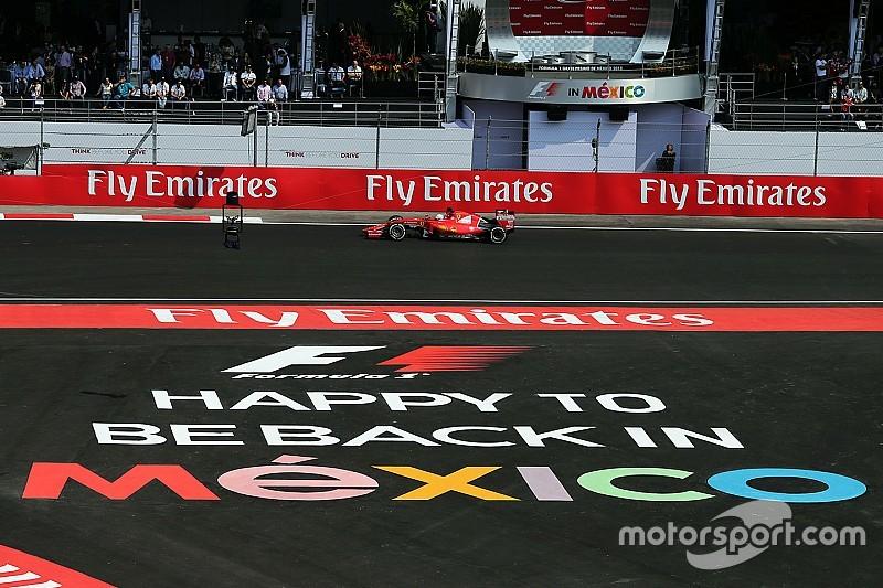 F1メキシコGP『DAZN』放送スケジュール決定。サッシャが全セッション実況担当