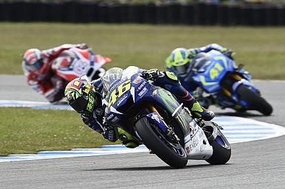 Rossi verzoekt Yamaha snelheid aan het einde van de race te verbeteren