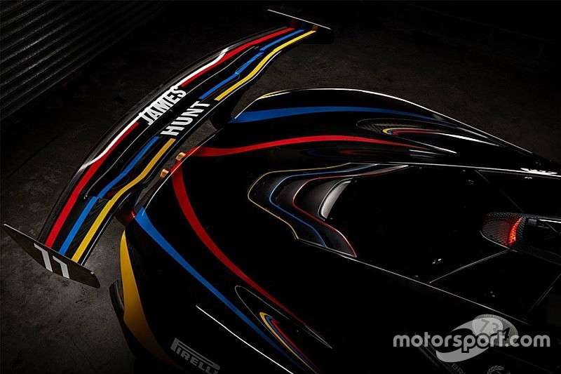Galería: McLaren P1 GTR, un homenaje a James Hunt