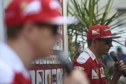 """""""A Ferrari megint csúnyán benézte, Kimi azonban egy legyintéssel elintézte."""""""