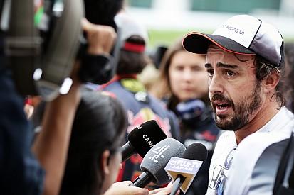 """Alonso cree que la afición mexicana es """"de las mejores de la temporada"""""""