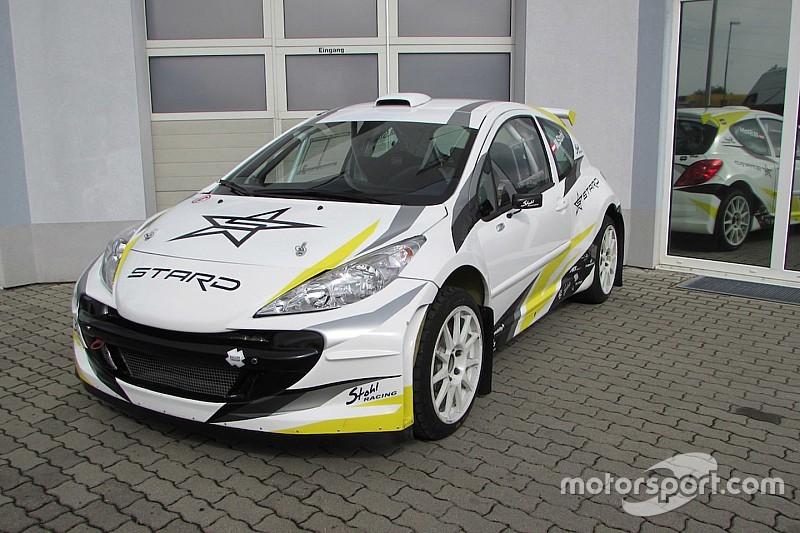 Österreichische Firma präsentiert elektrisches Rallycross-Auto