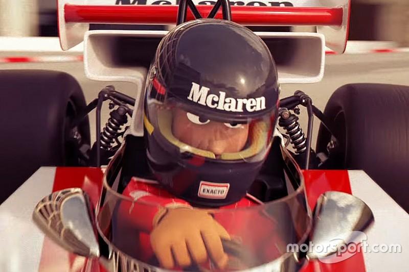 Quand McLaren met Button, Hunt et Alonso en dessin animé