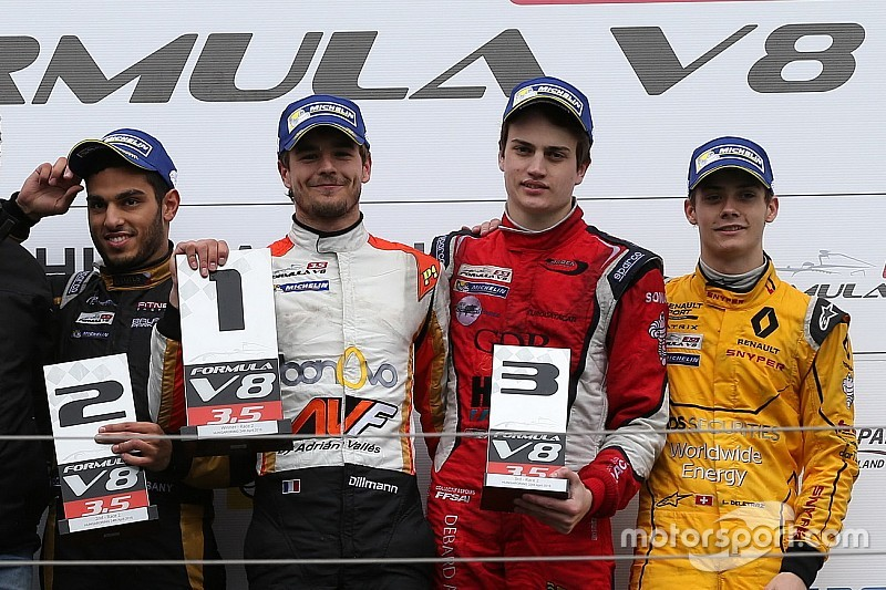Les enjeux F3.5 - Un titre, quatre courses, sept pilotes!
