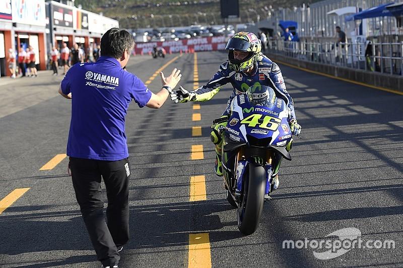 """""""On peut être compétitifs partout"""" assure Valentino Rossi"""