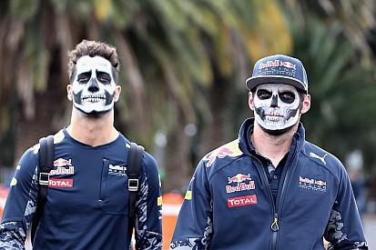 """Ricciardo e Verstappen """"assombram"""" paddock no México"""