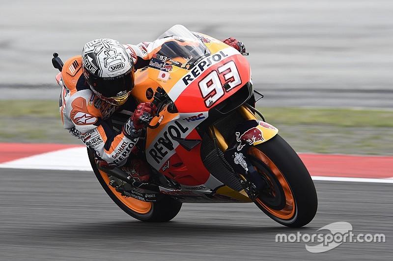 Márquez lidera la primera práctica en Sepang