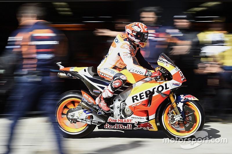 EL1- Márquez emmène la meute, les Yamaha en retrait