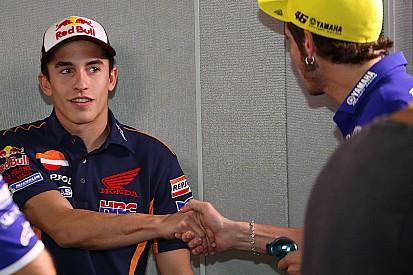 Rossi y Márquez, año uno después del cristo
