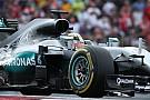 Hamilton manda en la primera práctica en México