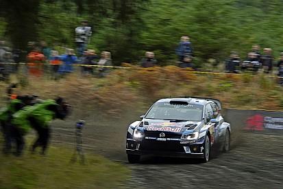 WRC Wales: Ogier pakt voorsprong ondanks problemen Volkswagen