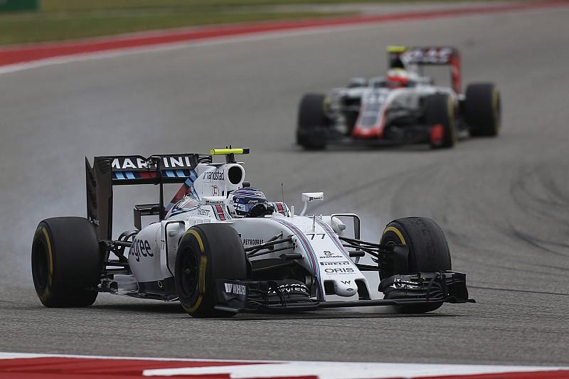 Bottas - Williams ne peut pas lutter contre Mercedes, Red Bull et Ferrari