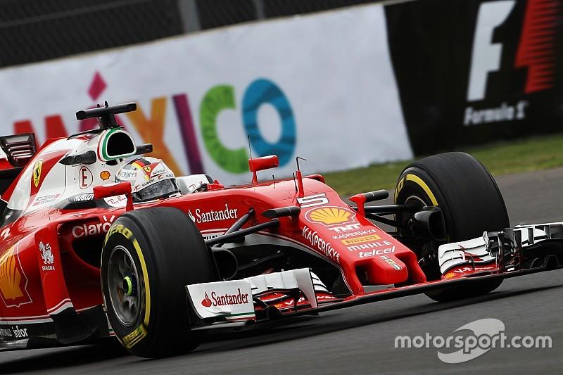 Città del Messico, Libere 2: Vettel davanti alle due Mercedes con la Ferrari!