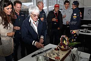 F1 Top List Galería: Ecclestone festeja su cumpleaños en el GP de México