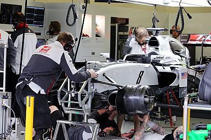 Formel 1 in Mexiko: Bremsen schuld am schlechten Abschneiden von Haas am Freitag