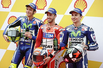 MotoGP雪邦站排位赛:多维齐奥索湿地中夺得杆位